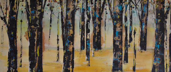 """Golden Rod""  20""x46""  $1650"