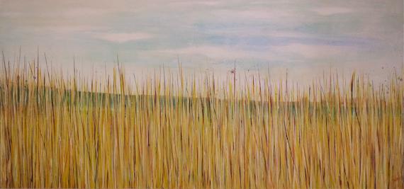 Grass landscape art